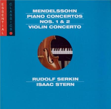 MENDELSSOHN-BARTHOLDY - Serkin - Concerto pour piano et orchestre n°1 en