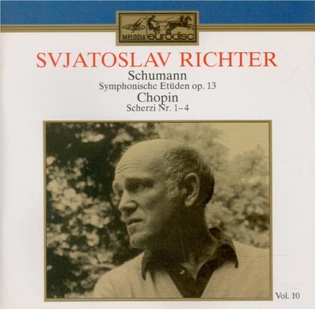 SCHUMANN - Richter - Études symphoniques, pour piano op.13