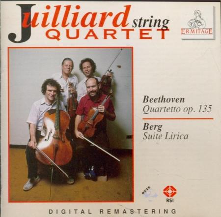 BEETHOVEN - Juilliard Strin - Quatuor à cordes n°16 op.135