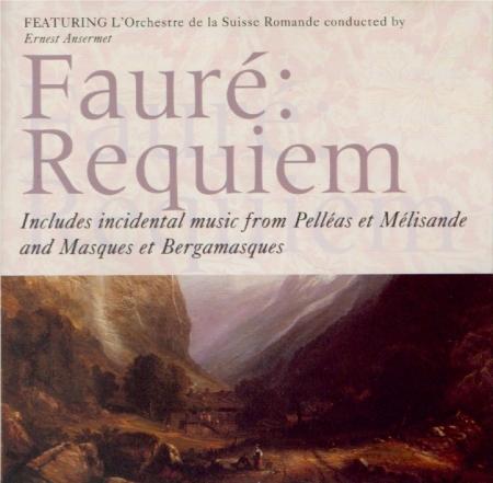 FAURE - Ansermet - Requiem op.48