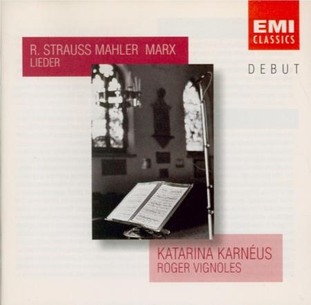 Lieder de Strauss, Mahler et Marx
