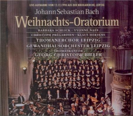 BACH - Biller - Oratorio de noël(Weihnachts-Oratorium), pour solistes