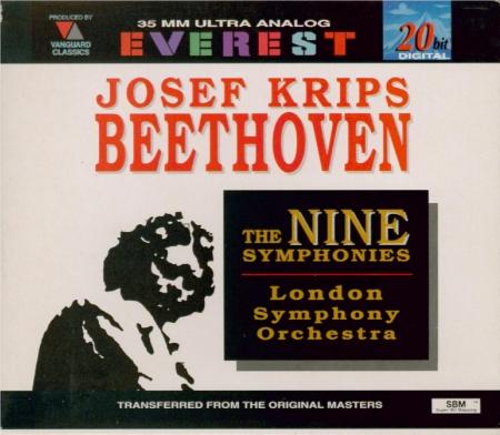 BEETHOVEN - Krips - Symphonies (intégrale)