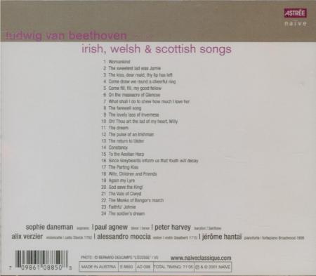 Irish, Welsh and Scottish Songs