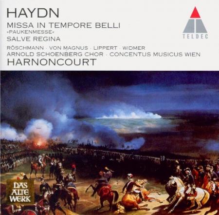 HAYDN - Harnoncourt - Missa in tempore belli, pour solistes, choeur mixte