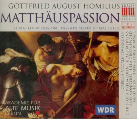 HOMILIUS - Forck - Passion selon St Matthieu