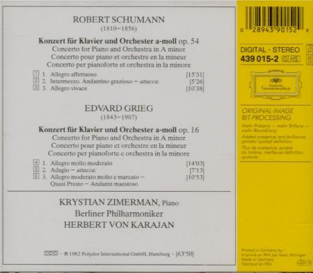 GRIEG - Zimerman - Concerto pour piano en la mineur op.16