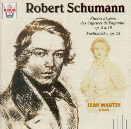 SCHUMANN - Martin - Etüden nach Capricen von Paganini, six études pour p