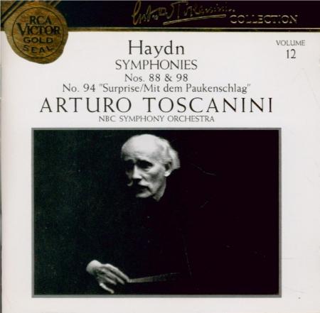 HAYDN - Toscanini - Symphonie n°88 en do majeur Hob.I:88