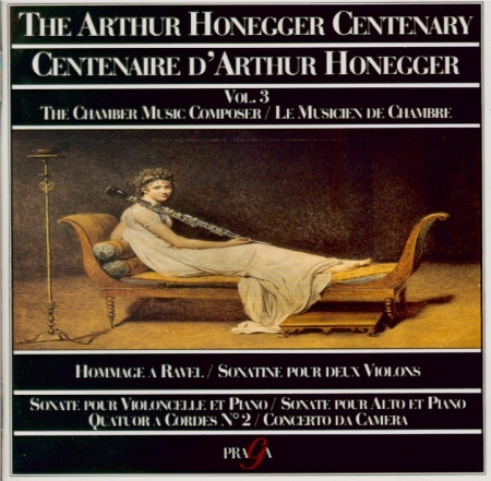 Centenaire d'Arthur Honneger vol.3