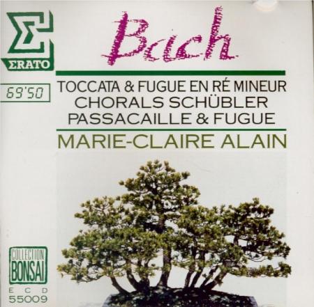 BACH - Alain - Toccata et fugue pour orgue en ré mineur BWV.565 (attribu