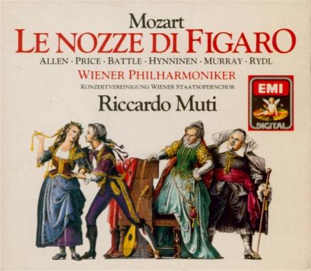 MOZART - Muti - Le nozze di Figaro (Les noces de Figaro), opéra bouffe e