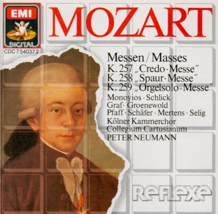 MOZART - Neumann - Messe en do majeur, pour solistes, choeur, orgue et or