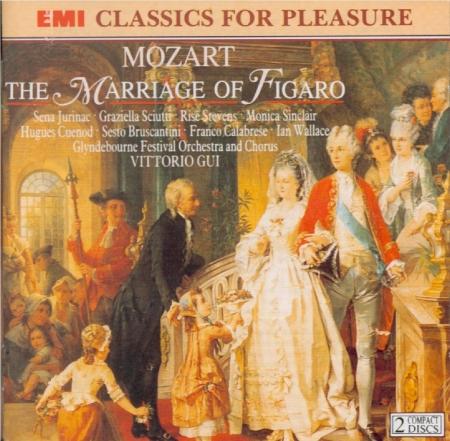 MOZART - Gui - Le nozze di Figaro (Les noces de Figaro), opéra bouffe en
