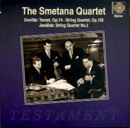 DVORAK - Smetana Quartet - Terzetto, pour deux violons et alto en do maj