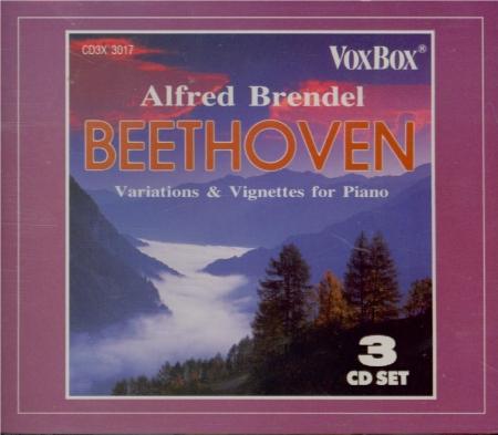 BEETHOVEN - Brendel - Variations héroïques, quinze variations pour piano