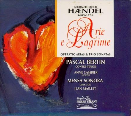 Arie et lagrime (airs d'operas et sonates en trio)