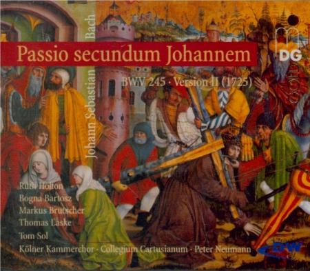 BACH - Neumann - Passion selon St Jean(Johannes-Passion), pour solistes version II 1725