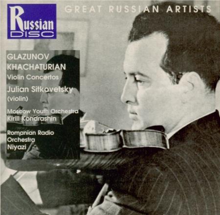KHATCHATURIAN - Sitkovetsky - Concerto pour violon et orchestre en ré mi