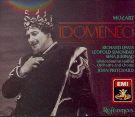 MOZART - Pritchard - Idomeneo, rè di Creta (Idoménée, roi de Crète), opé