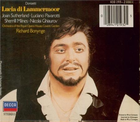 DONIZETTI - Bonynge - Lucia di Lammermoor