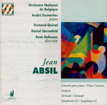 ABSIL - Quinet - Concerto pour piano op.30