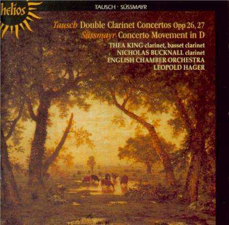 TAUSCH - King - Concerto pour deux clarinettes n°1 en si bémol majeur op