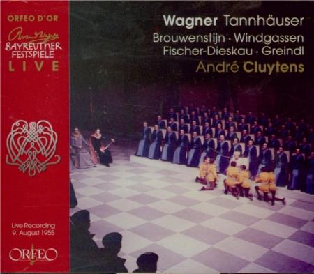 WAGNER - Cluytens - Tannhäuser WWV.70