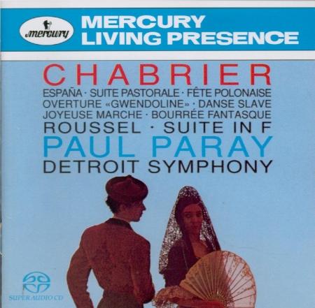 CHABRIER - Paray - Espana, pour deux pianos
