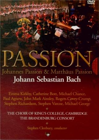 BACH - Cleobury - Passion selon St Jean(Johannes-Passion), pour soliste