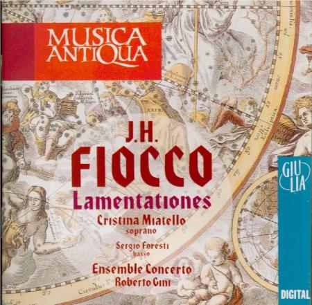 FIOCCO - Gini - Lamentations pour la Semaine Sainte