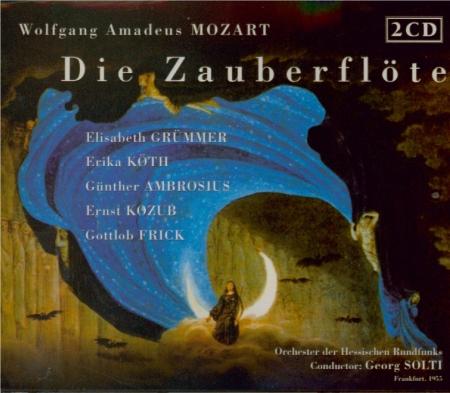MOZART - Solti - Die Zauberflöte (La flûte enchantée), opéra en deux act live Franffurt 1955