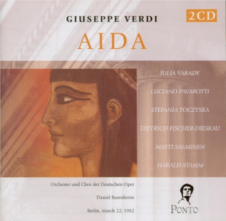 VERDI - Barenboim - Aida, opéra en quatre actes (live Berlin, 22 - 3 - 1982) live Berlin, 22 - 3 - 1982