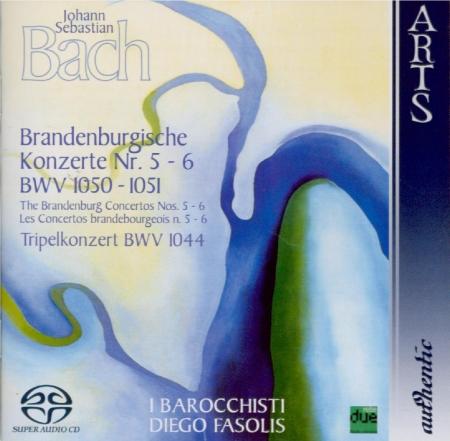 BACH - Fasolis - Concerto brandebourgeois n°5 pour orchestre en ré majeu