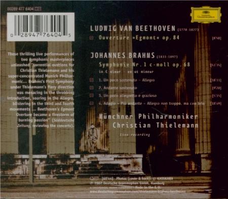 BRAHMS - Thielemann - Symphonie n°1 pour orchestre en do mineur op.68