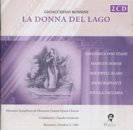 ROSSINI - Scimone - La donna del lago (live Houston 5 - 10 - 81) live Houston 5 - 10 - 81
