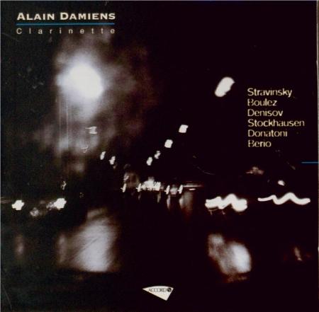 STRAVINSKY - Damiens - Trois pièces pour clarinette seule