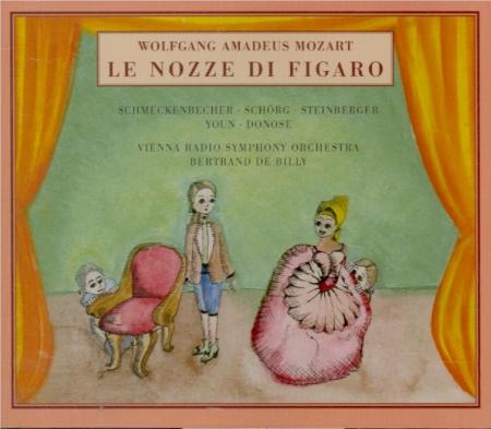 MOZART - Billy - Noces de Figaro (Les) K.492 (Le Nozze di Figaro)