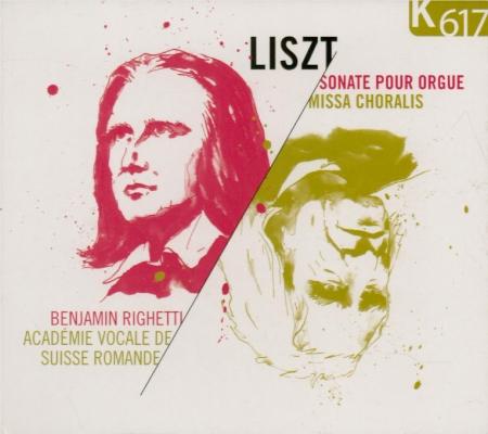 LISZT - Righetti - Missa choralis, pour choeur et orgue S.10