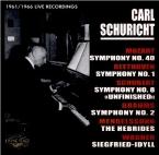 MOZART - Schuricht - Symphonie n°40 en sol mineur K.550 Live recordings 1961-1966