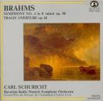 BRAHMS - Schuricht - Symphonie n°4 pour orchestre en mi mineur op.98