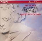BEETHOVEN - Quartetto Itali - Quatuor à cordes n°12 op.127