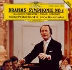 BRAHMS - Giulini - Symphonie n°4 pour orchestre en mi mineur op.98