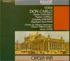 VERDI - Stein - Don Carlo, opéra (version italienne) live Vienne 25 - 10 - 70