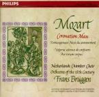 MOZART - Brüggen - Messe en do majeur, pour solistes, chœur, orgue et or