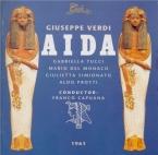 VERDI - Capuana - Aida, opéra en quatre actes (Live Tokyo, 16 - 10 - 1961) Live Tokyo, 16 - 10 - 1961