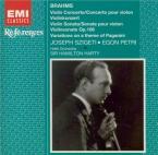 BRAHMS - Szigeti - Concerto pour violon et orchestre en ré majeur op.77