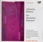 BRAHMS - Bernius - Ein deutsches Requiem (Un Requiem allemand), pour sol