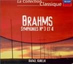 BRAHMS - Kubelik - Symphonie n°3 pour orchestre en fa majeur op.90