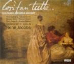 MOZART - Jacobs - Cosi fan tutte (Ainsi font-elles toutes), opéra bouffe + CD-Rom